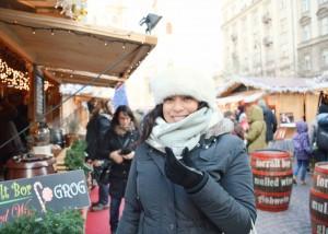 Jessica in Budapest 2014