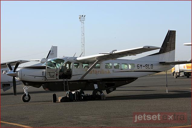 Safari Link Plane going to Lewa Downs