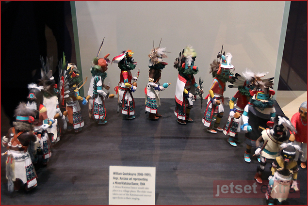 Kachina Dolls at the Heard Museum in Phoenix