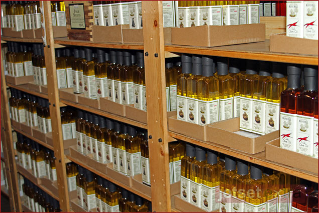 Varieties of Olive Oils produced at Queen Creek Olive Mill