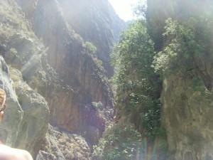 Saklikent Gorge in Fethiye