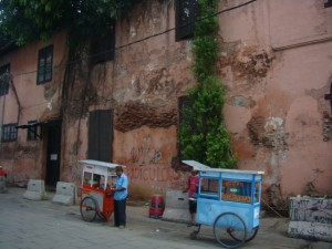 Roaming Food Vendors