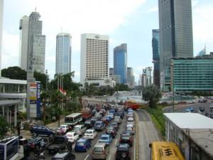 Typical Traffic Jakarta