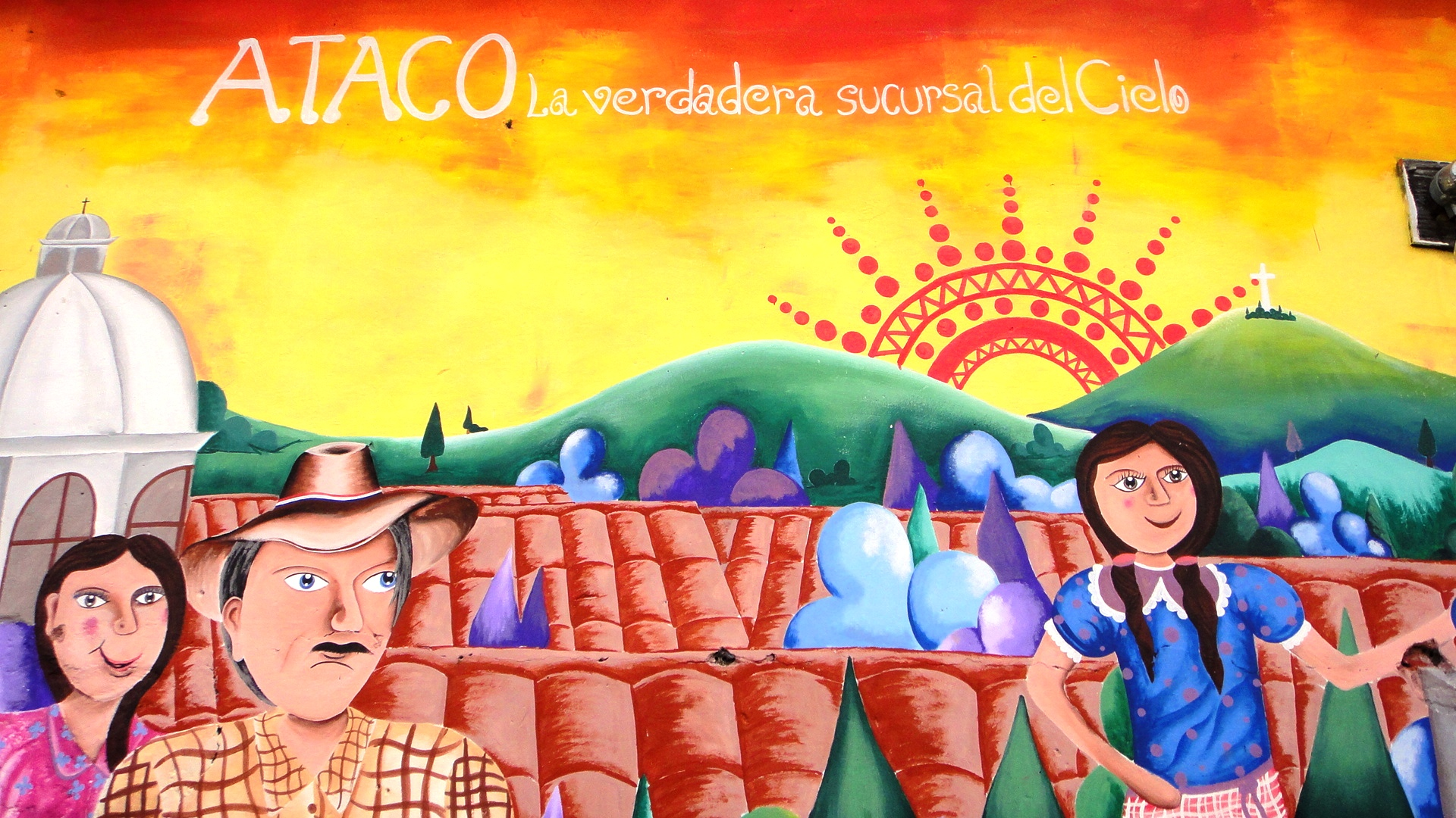 Ataco - places to visit in el salvador - welcome