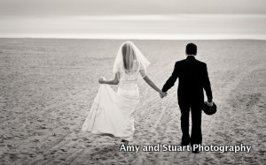 Lisa and George Wedding on the Beach