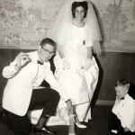 Frank and Judi 1963 Wedding
