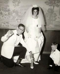 Frank and Judi 1963 Wedding