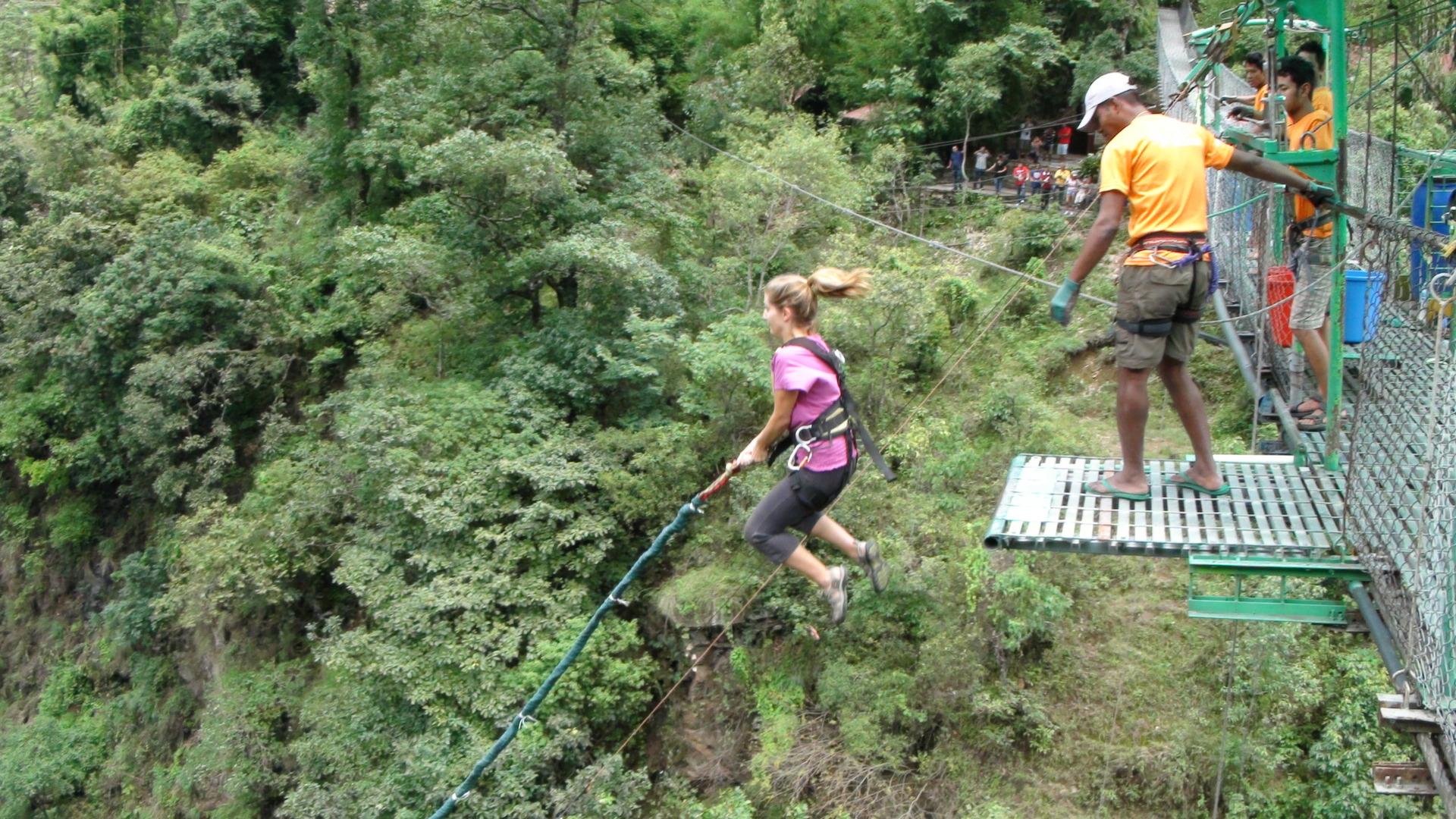 Erica Bungee Jump 2