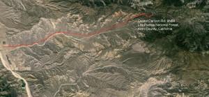 Quatal Canyon map