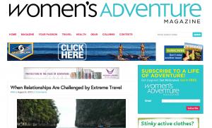 women's adv extremem travel