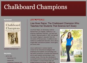 chalkboard champion