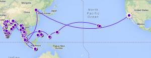 Big trip map 2012 2013
