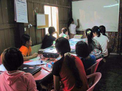 Mae Hong Son school, Thailand