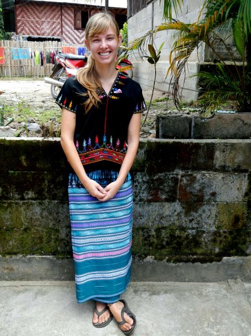 Teacher in Karenni dress