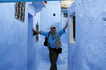 Richard in Morocco