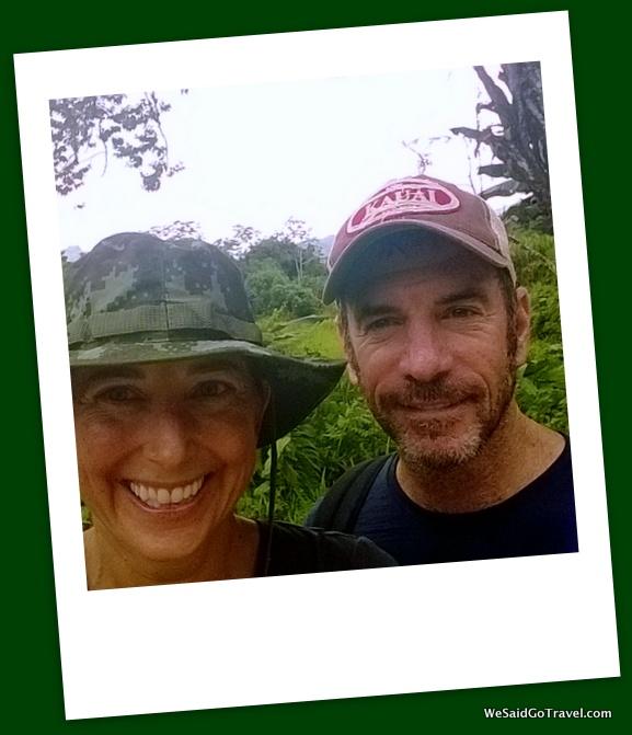 Hiking in Santa Fe, Panama