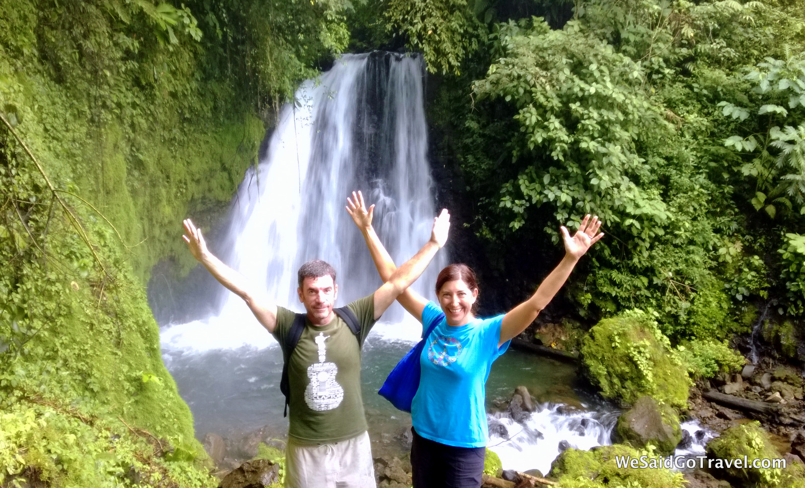 GL Arenal Hike Waterfall