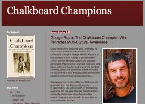 George Chalkboard champion