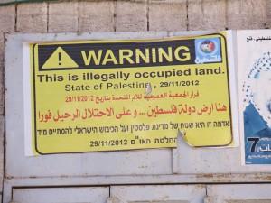 hebron warning