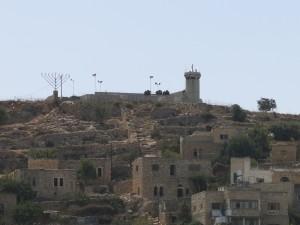 watch towers hebron