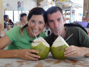 Lisa and George are coconuts about writing!
