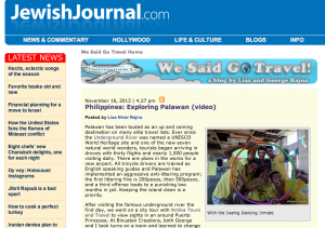 Palawan on Jewish Journal