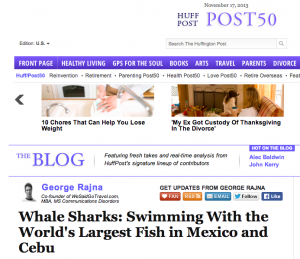 huff post whale sharks