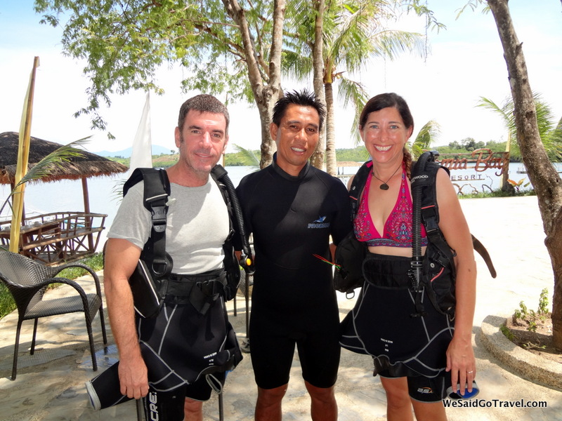 Diving at Kamia Bay
