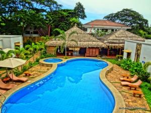 Pool at Acacia Hotel