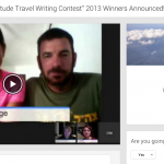 We Said Go Travel gratitude 2013 google hangout