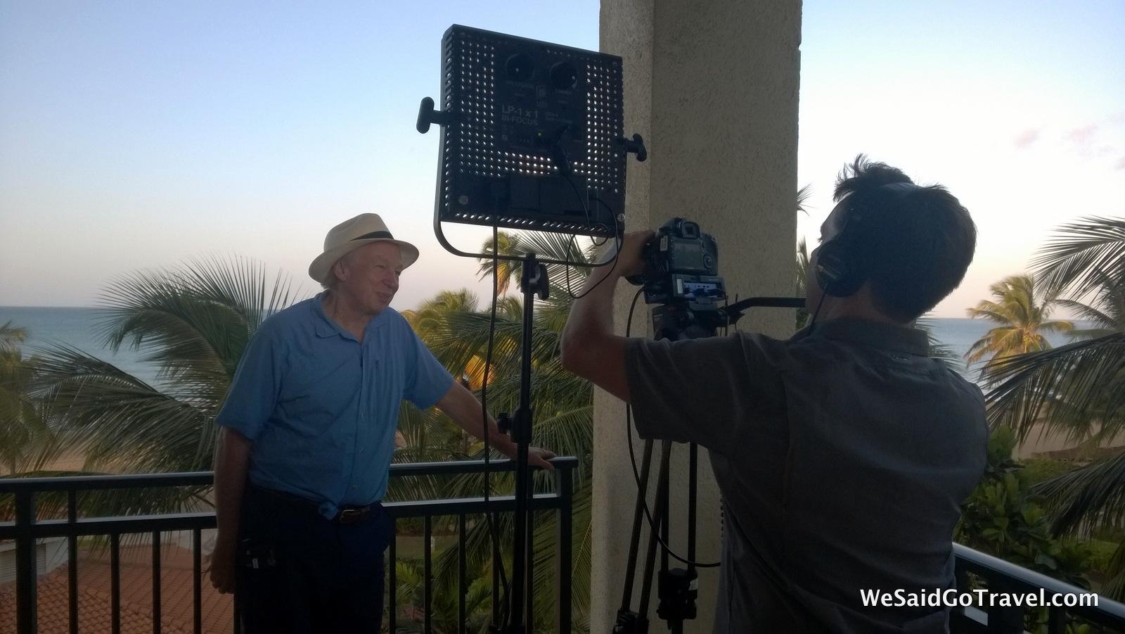 Didrik Richard Filming