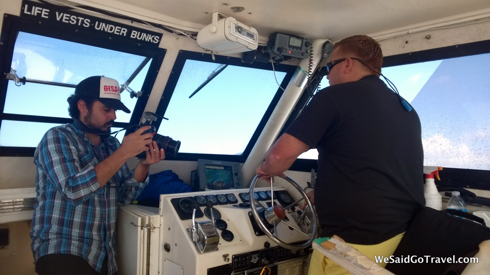 Frank Ed dive boat Copamarina