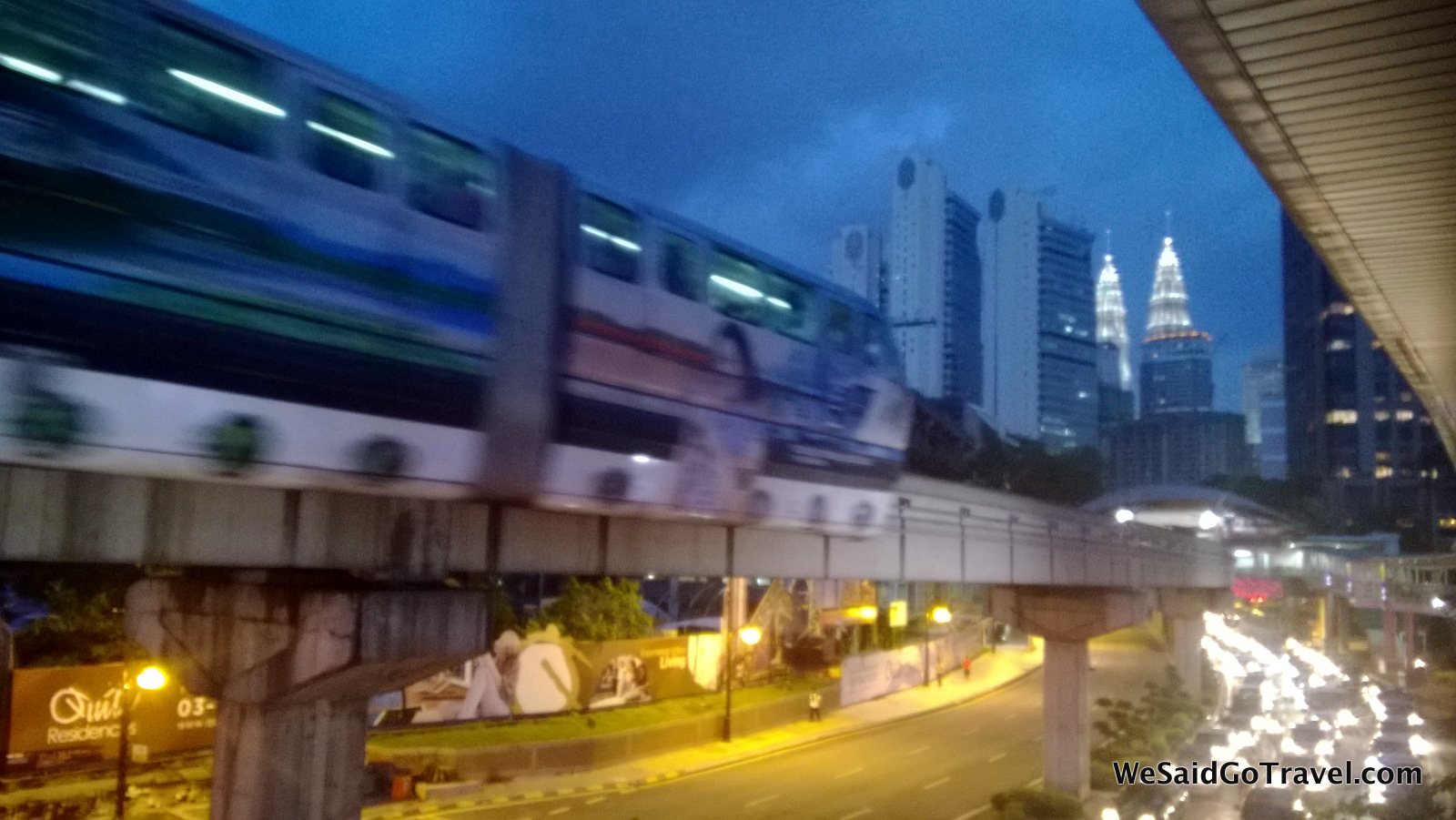 KL night train