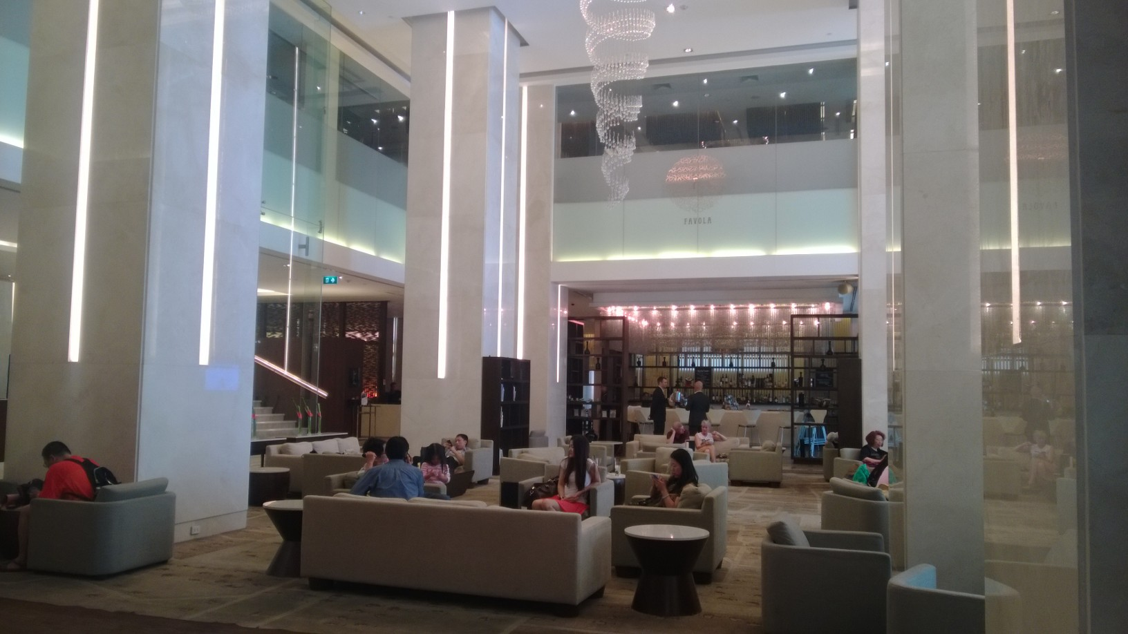 Lobby, Le Meridien, Chiang Mai, Thailand