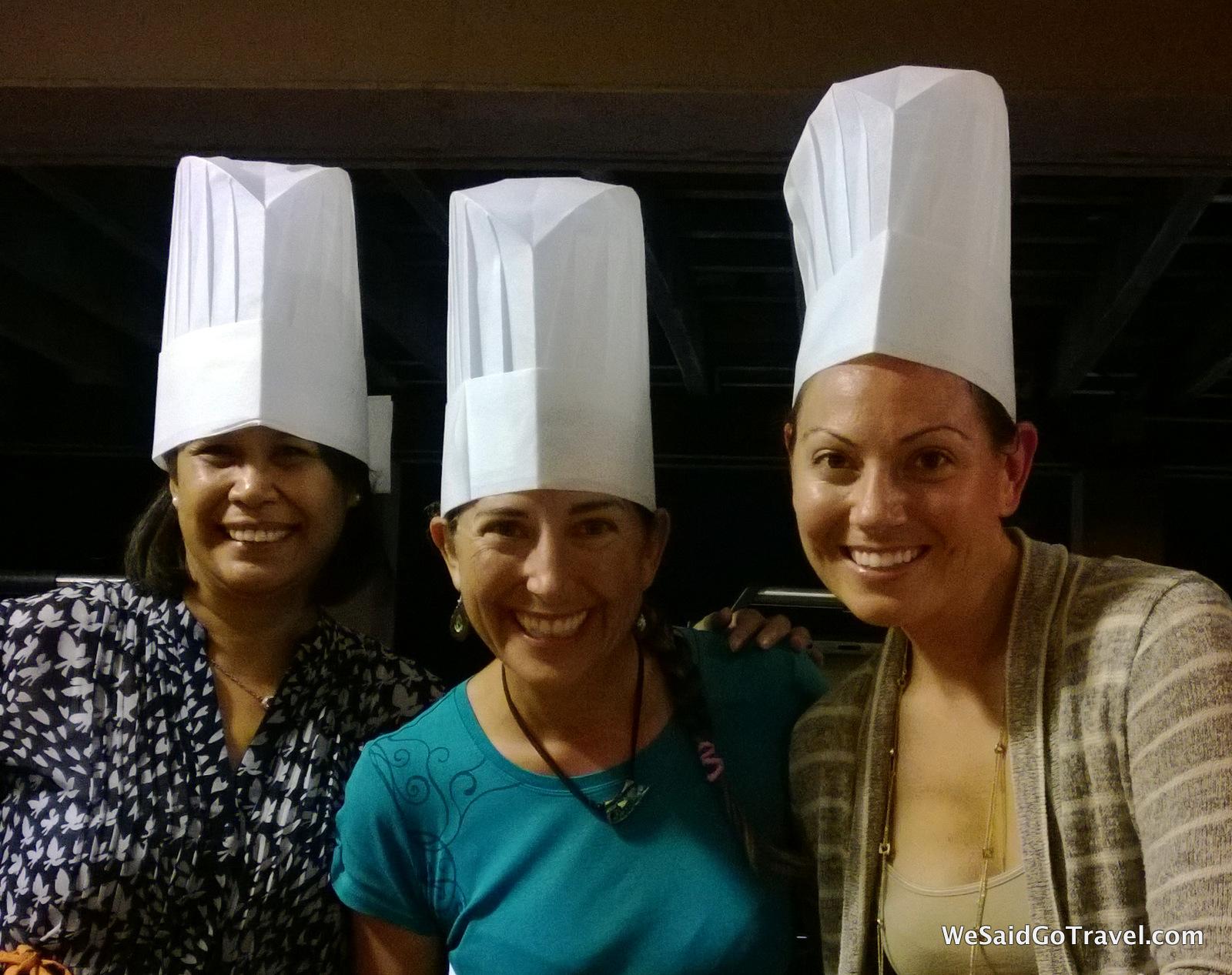 Outrigger Guam BBQ lisa jenny lisa