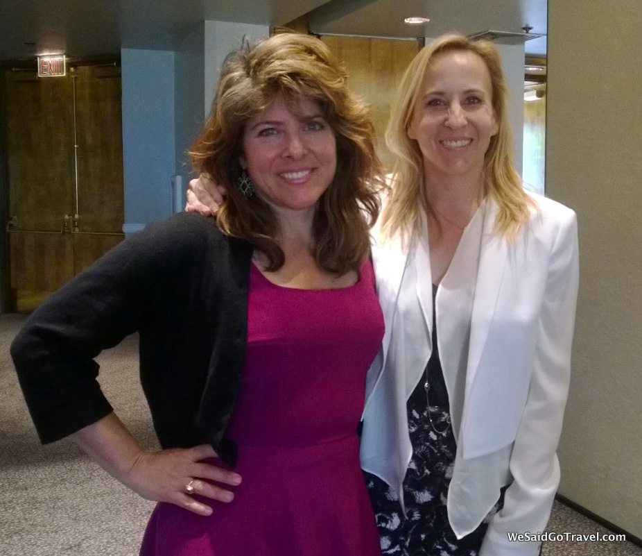Naomi Wolf and Dana Guerin