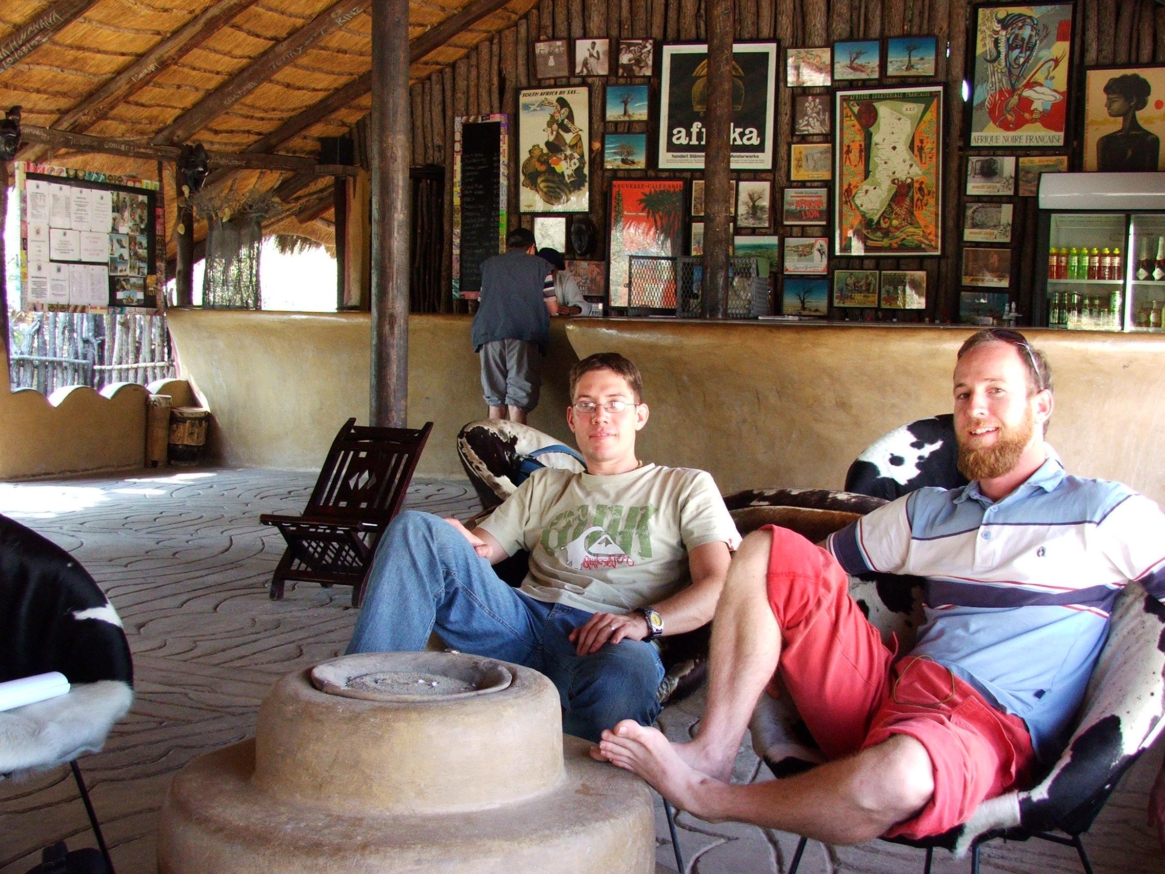 Funkiest pub in the Kalahari