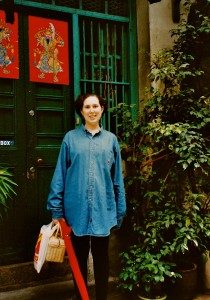 Susan pregnant in Hong Kong (photo by Annie Galpin)