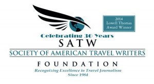 SATWF Society of American Travel Writers Award 2014