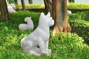 KWCP zodiac statues