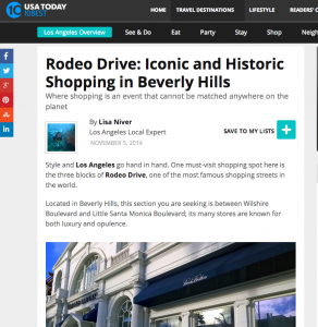 USAToday Rodeo Drive