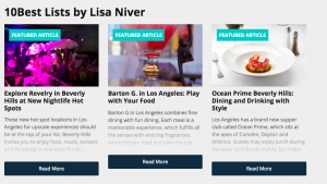 Lisa Niver USA Today 10best articles feb 2015