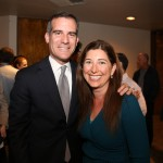 Mayor eric garcetti lisa niver feb 2015