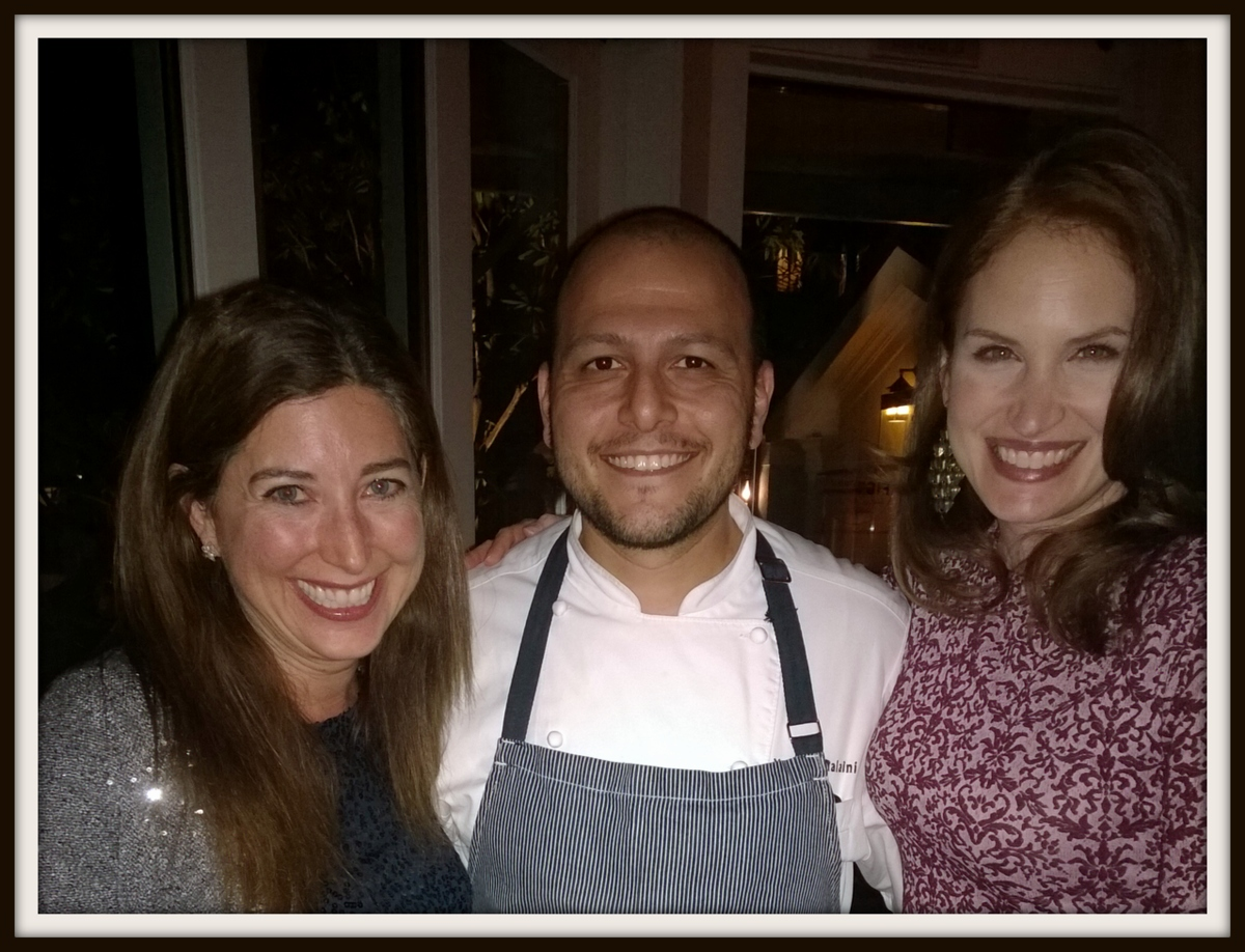 krista chef Yousef Ghalaini Lisa Niver Fairmont Miramar Fig Restaurant