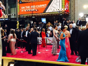 Photo by United Airlines. Oscars Red Carpet 2014