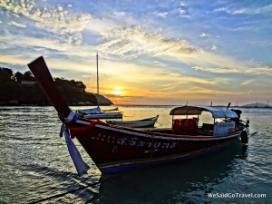 Lisa Niver Thailand Koh Lipe Sunset Beach 2014