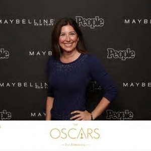 Lisa Oscars Red Carpet 2015