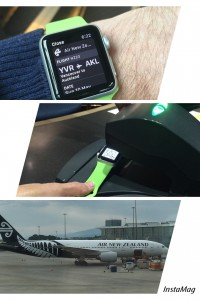 GayWhistler with Air New Zealand and Apple Watch