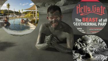 Hells Gate Geothermal Park and Mud Spa Rotorua New Zealand