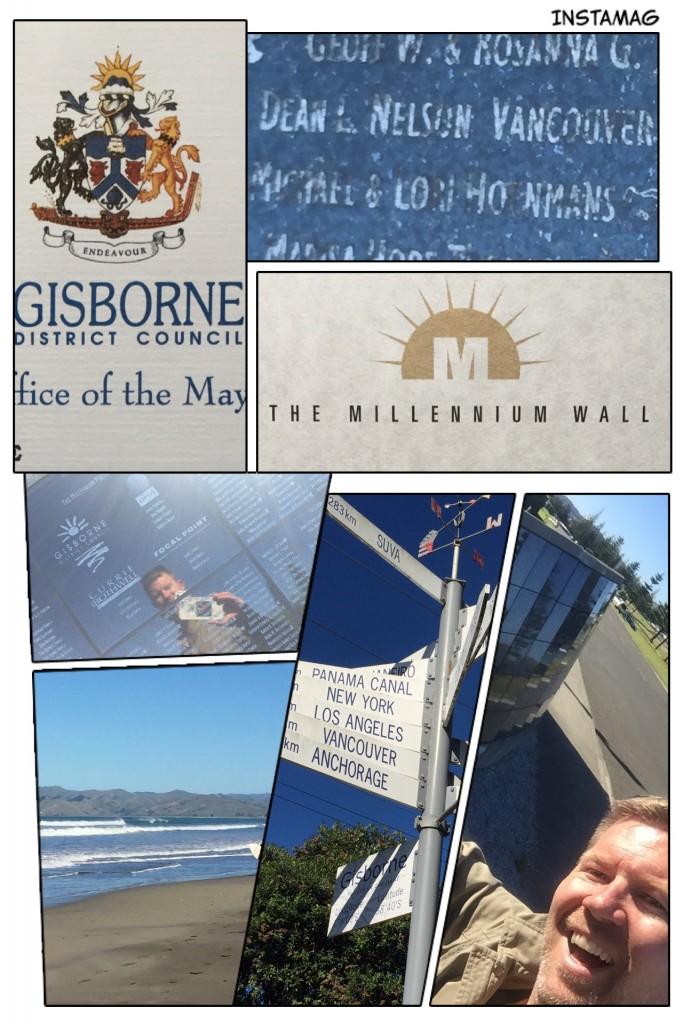 Millennium Wall Gisborne New Zealand